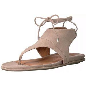 Gentle Souls Olson Open Toe T-Strap Tie Up sandals